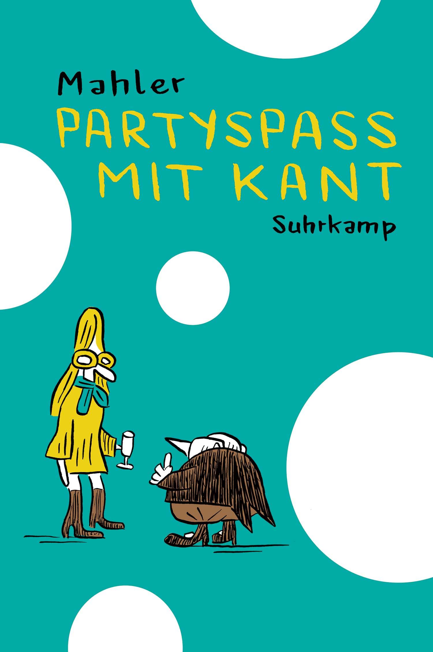 Buchcover: Partyspaß mit Kant
