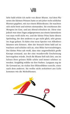 Illustration für: Der Kleine Prinz / Insel Bücherei, Berlin 2015