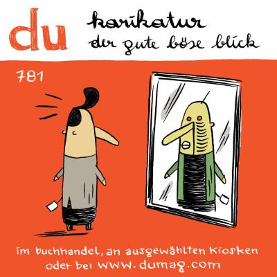 Werbesticker DU-Magazin, 2012