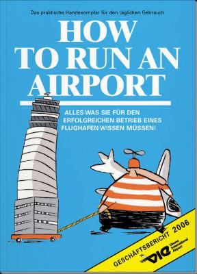 Illustration Geschäftsbericht Flughafen Wien 2006