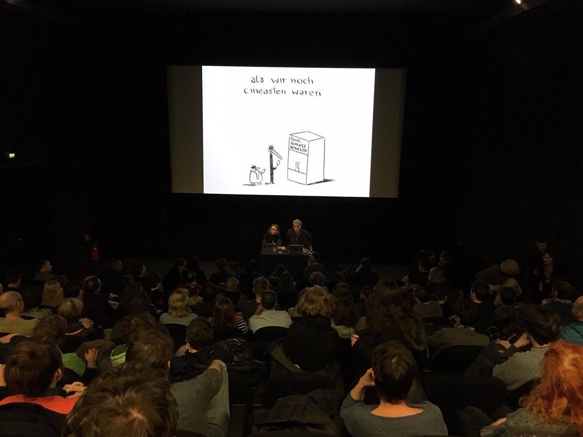 Buchpräsentation DAS RITUAL / Filmmuseum Wien