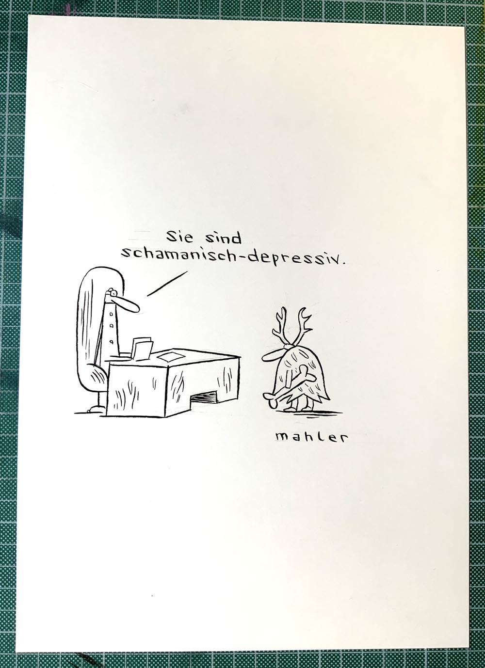 SCHAMANISCH-DEPRESSIV