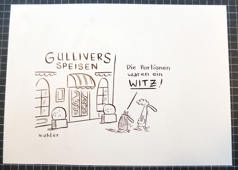 GULLIVERS SPEISEN